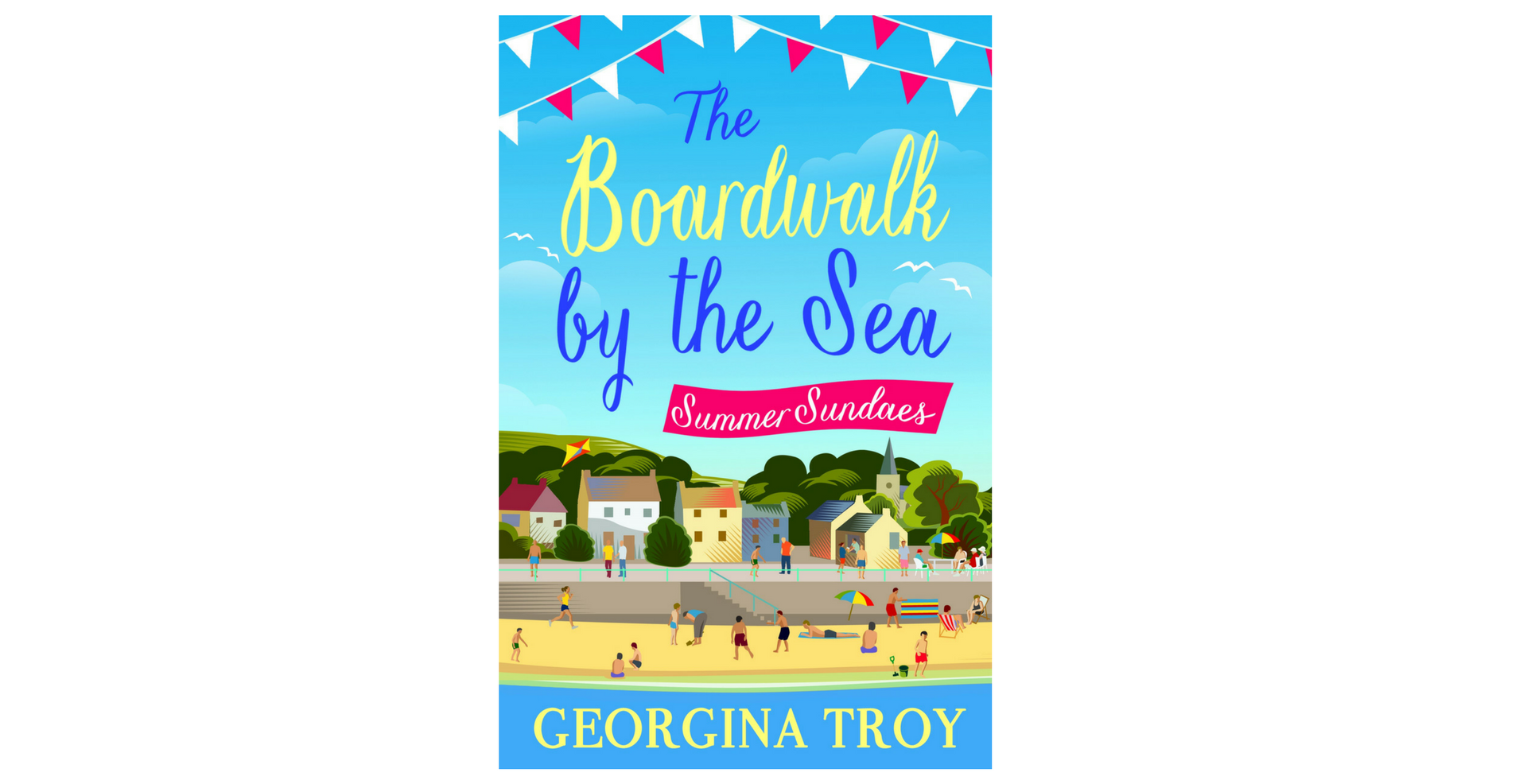 The Boardwalk by the Sea, Summer Sundaes, Georgina Troy