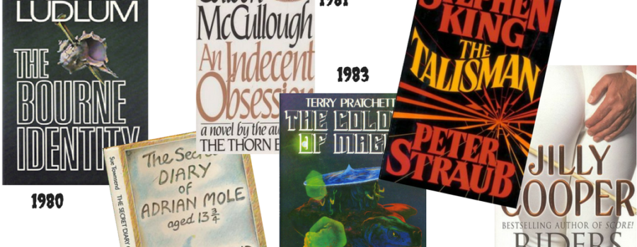 Do you remember these books from the 1980s?